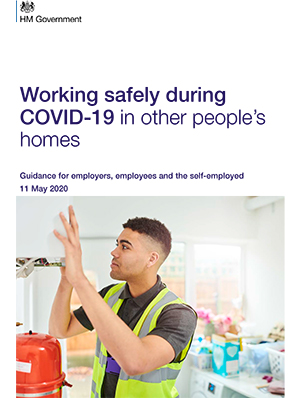 Working Safety During COVID-19 in other people homes